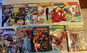 LOT-OF-MARVEL-COMICS-ANNUALS-amp-QUARTERLY-REPORTS-Near-Mint-to-VF-RARE