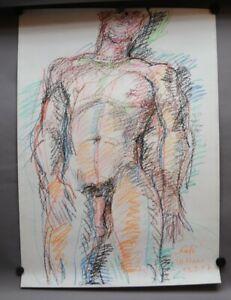 Willibrord HAAS *1936 in Schramberg - Männlicher Akt - Erotik Gay Interest - R1