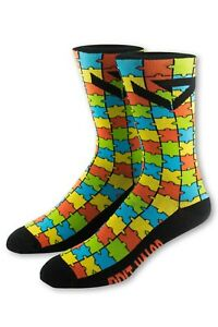 5cf45eb14fc34 Autism Awareness Socks By Grit And Valor 860001144413 | eBay