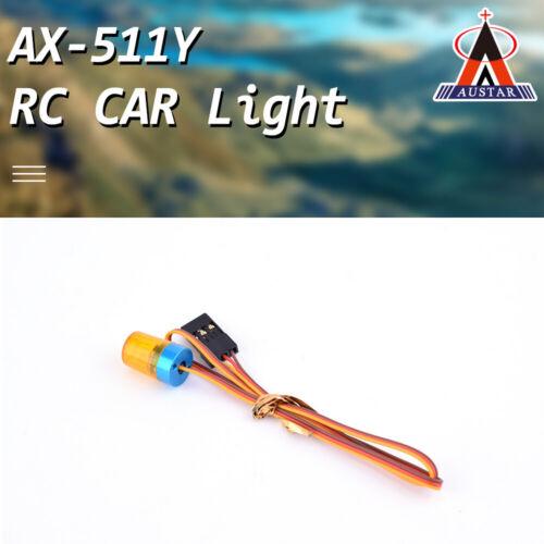 AUSTAR AX-511Y Yellow Circular Ultra Bright LED Lamb Light for RC Car Toys