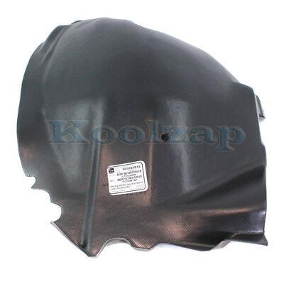 Driver Side Fender Splash Shield For Mustang 10-14 Plastic Front
