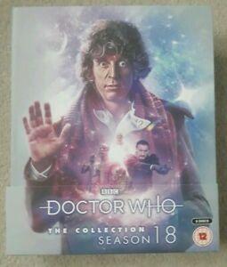 Doctor-Who-The-Coleccion-Completo-Temporada-18-Blu-Ray-Caja-Set-Nuevo-amp