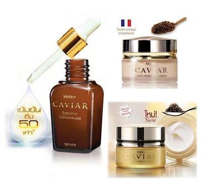 Caviar Cream Day, Night, Serum with Precious GemStone Extracts Anti-Aging Repair