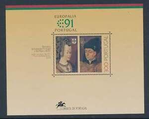 Portugal Block 79 postfrisch / **, Europäisches Kulturfestival 1991 (28872)