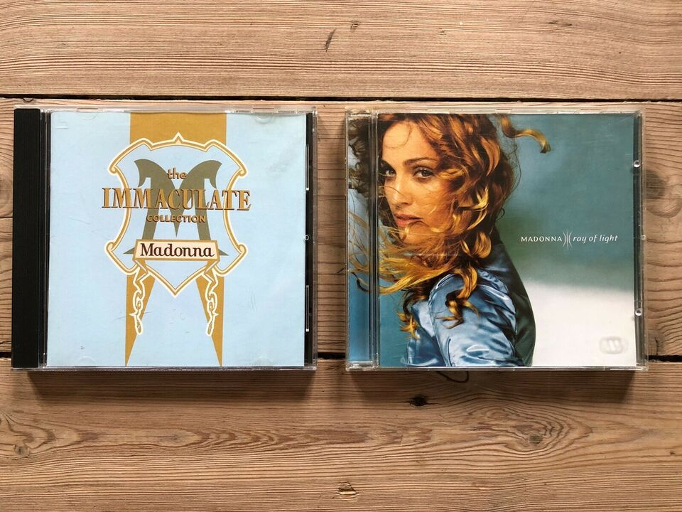 Madonna: The immaculate collection , pop
