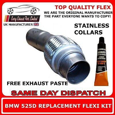 55mm X 250mm Universal doublé flexi flex joint ci-dessous pour la réparation d/'échappement