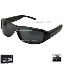 Ski Video Camera 16GB Glasses Cams Sunglasses Bike Action Security No SPY Hidden