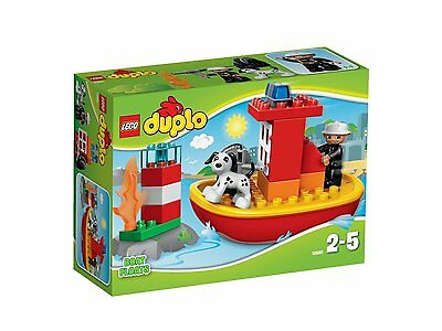 LEGO 10591 Duplo Town Fire Boat - Brand New