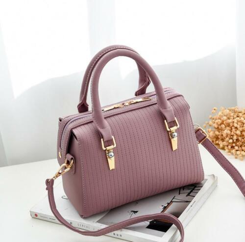 Designer Inspired Stripe Logo Cross Body Shoulder Side Bag Chain Strap Handbag