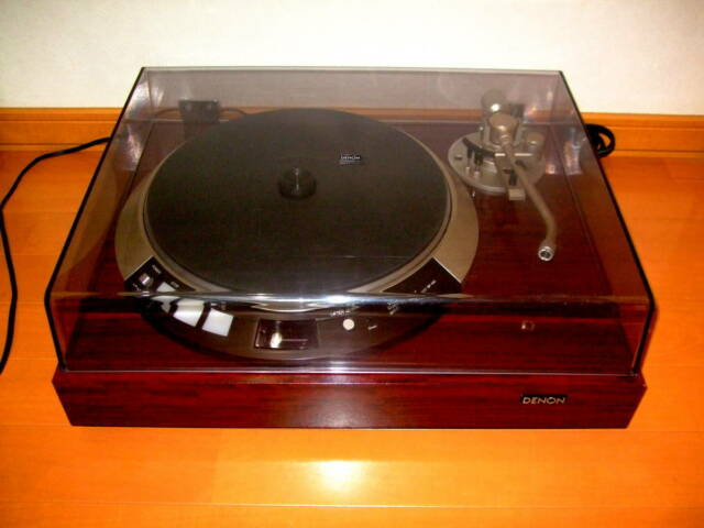 DENON turntable record player DP-55L