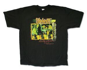 Slipknot-She-Isn-039-t-Real-Subliminal-Tour-2005-Black-T-Shirt-New-Official-Adult