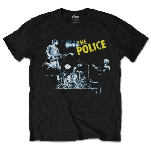 THE POLICE LIVE IN CONCERT STING Rock Officiel Tee T-shirt Homme Unisexe