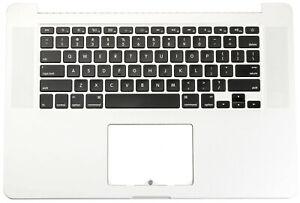 Apple-Macbook-Pro-Retina-UK-A1398-15-2013-2014-Topcase-Cover-Gehaeuse-Tastatur