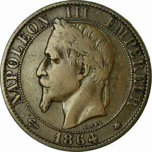 458303-Coin-France-Napoleon-III-5-Centimes-1864-Paris-VF-20-25-KM
