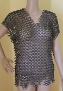 Pound Costume Chainmail Chain Renaissance About Vest Details Mail Medieval Cosplay Armour 12 WED29IYH