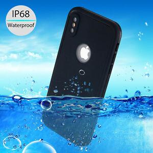 IP68-Solid-Waterproof-Dirtproof-Heavy-Duty-Tough-Armor-Case-For-Apple-iPhone-X