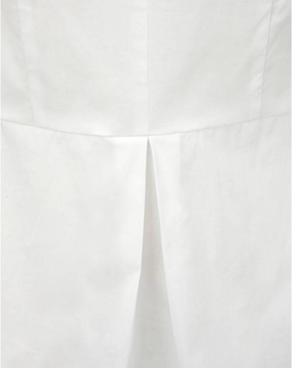 BNWT puro puro puro cotone Peplum Collection Camicia-bianco-misure RRP 7f46fd