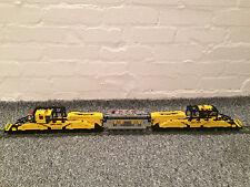 LEGO CUSTOM TRAIN 9V - THE WORLD LARGEST RAIL SCHNABEL CAR  46 INCH LONG !!! N1