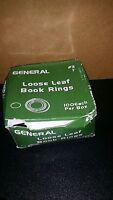 1 3 Looseleaf Binder, Book Metal Locking Key Rings (100 Pcs) The Box