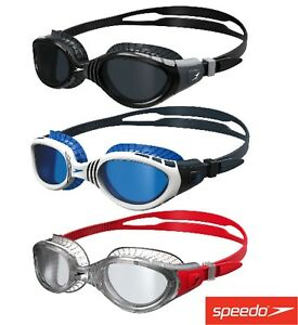 Image is loading SPEEDO-FUTURA-BIOFUSE-FLEXISEAL-SWIMMING-GOGGLES-MENS-AND- 79b3fb9f7934