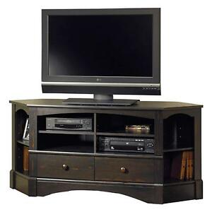 Image Is Loading Corner Flat Screen Tv Stand Entertainment Center Media