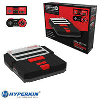 Hyperkin Retron 2 2in1 Snes / Nes Retro Video Game Twin Console System Black Red