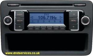 vw refurbished stereo radio cd rcd 210 rcd210 ulvwmp3 ebay. Black Bedroom Furniture Sets. Home Design Ideas