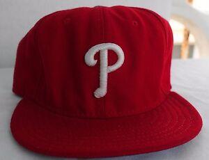 Philadelphia-Phillies-Baseball-Hat-Cap-Fitted-New-Era-Size-7-3-8