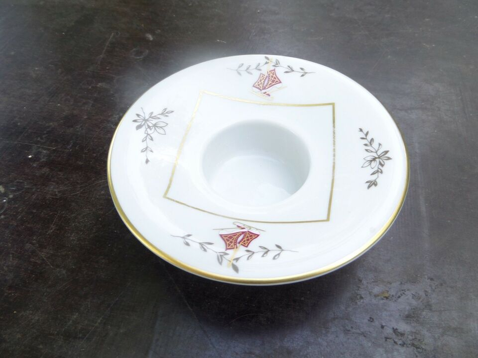 Porcelæn, LYSESTAGE FRA R.K., ROYAL COPENHAGEN