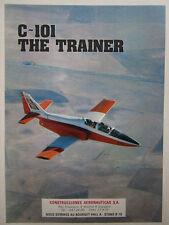 6/1979 PUB AVION CASA C-101 MILITARY TRAINER AIRCRAFT ORIGINAL FRENCH AD