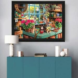 Mignon-Chats-Jigsaw-Puzzle-1000-pieces-Puzzles-Pour-Adultes-Enfants-Apprentissage-Education-Jouet