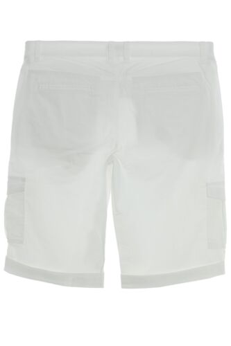 sheego Bermuda Short Hose Cargohose Sommerhose Damen Plusgröße Lagenlook Stretch