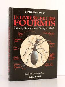 Le-Livre-Secret-des-Fourmis-Bernard-WERBER-Illus-ARETOS-Albin-Michel-1993-Relie