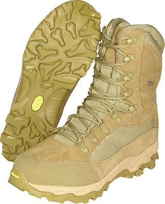 Viper Elite 5 Boots Waterproof Cordura Military Shoes Coyote Army Leather EVA