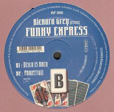 RICHARD GREY  - Beat Goes On - Presents Funky Express - Royal Flush