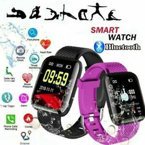 116 Plus Bluetooth Smart Montre Fréquence Cardiaque Tensiomètre Fitness Tracker-afficher Le Titre D'origine Pour ExpéDition Rapide