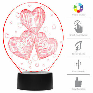 BCP-7-Color-3D-I-Love-You-LED-Night-Light-Illusion-Lamp-w-Touch-Switch