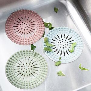 Kitchen-Silicone-Sink-Drain-Hair-Catcher-Bathroom-Stopper-Strainer-Shower-Filter