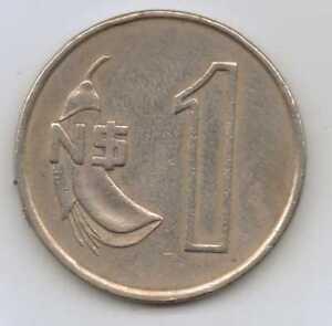URUGUAY - 1 Nuevo Peso 1980 Copper-nickel – 6.0 g – ø 23.96 mm