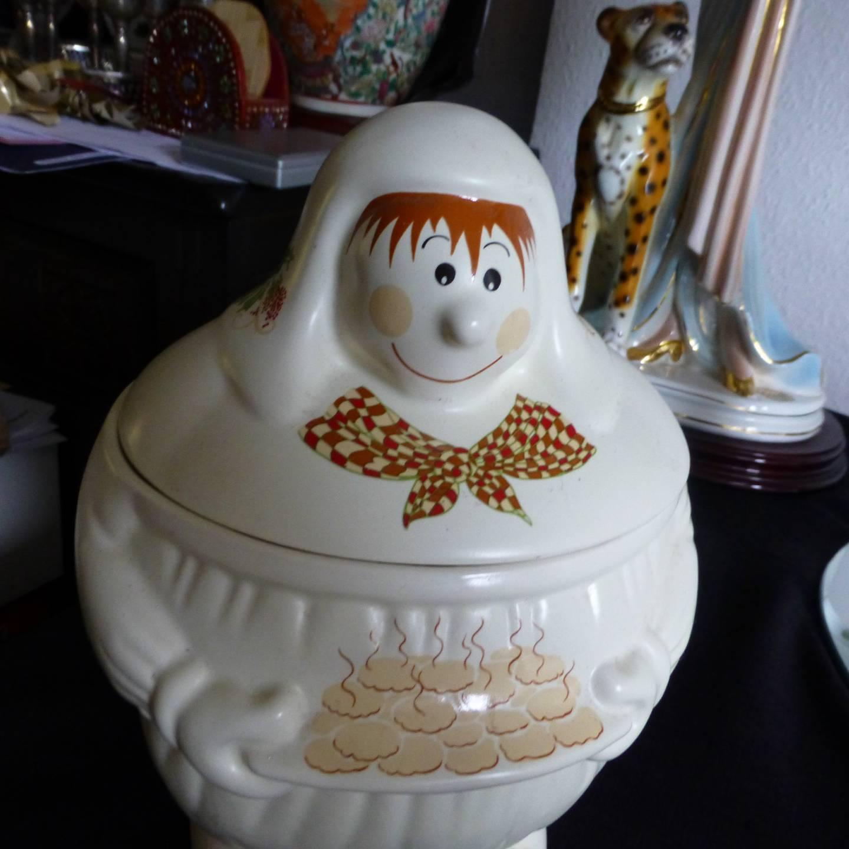 Cookie Jar Wade-Vintage paysanne Cookie Jar Wade Barley Mow RARE
