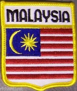 Embroidered-International-Patch-National-Flag-of-Malaysia-NEW-bunting