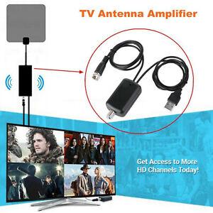 Amplificador-De-Senal-Antena-HDTV-Booster-Digital-HD-TV-Cable-de-antena-Canal-Fox-HD