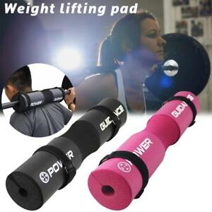 x1-Barbell-Pad-Protector-Weight-Lifting-Squat-Shoulder-Neck-Sponge-Support-Cover