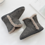 Women-Cozy-Plush-Fleece-Bootie-Slippers-Winter-Indoor-Outdoor-House-Shoes thumbnail 6