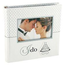Malden I Do Photo Album Wedding 2 up with Memo 4in by 6in Wedding Album