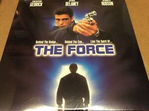 The-Force-Laserdisc-LD-Jason-Gedrick-Kim-Delaney-Gary-Hudson-Sealed-BRAND-NEW