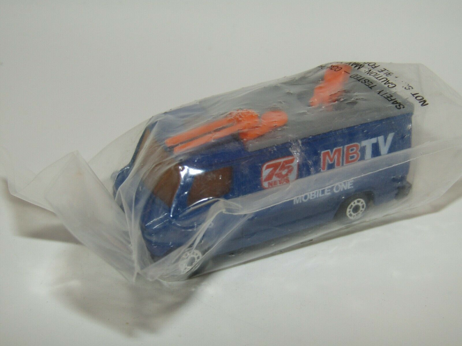 MatchBox Superfast TV News Truck MEGA RARE from 30 Verpackung Bucket SEALED Bag