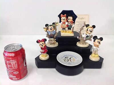 Art Sculptures Amicable Goebel Celebrates 50 Years Of Disney Magic 0134/1000