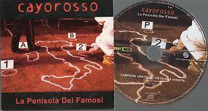 CAYOROSSO-CD-single-PROMO-1-traccia-LA-PENISOLA-DEI-FAMOSI-2007