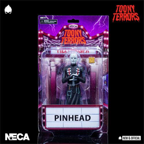 """in magazzino NECA-Pinhead Hellraiser toony terrori 6/"""" A//FIGURE * Nuovo /& UFFICIALE *"""